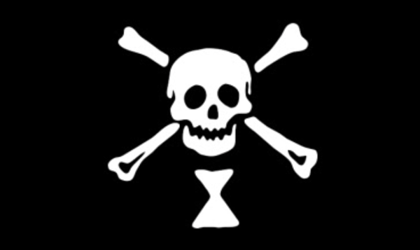 Bartholomew Roberts pirate flag