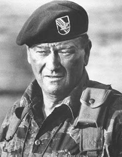 Boinas verdes. John Wayne