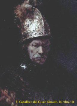 El Caballero del Casco Dorado. Rembrandt
