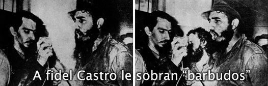 Fidel Castro Foto trucada