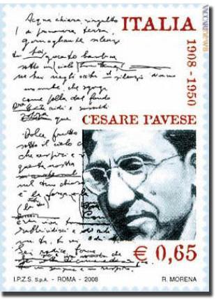 Cesare Pavese Sello de Correos