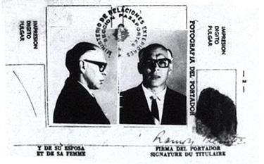Pasaporte Falso del Che
