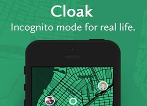 cloak, la app para evitar conocidos