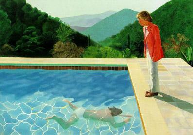 David Hockney, ya septuagenario, fue uno de los precursores del Arte Pop en Gran Bretaña