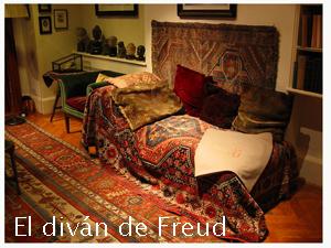El diván de Sigmund Freud
