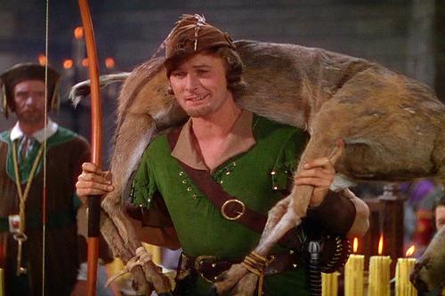Robin Hood interpretado por Errol Flynn