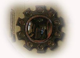 Espejo matrimonio Arnolfini