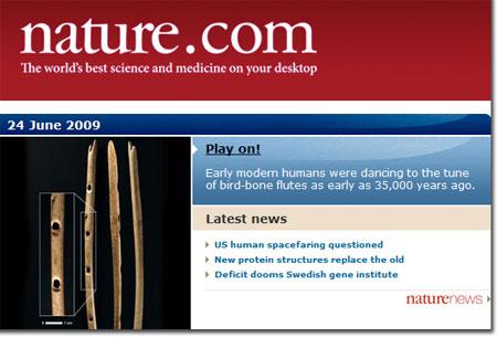 La Flauta Más Antigua del Mundo