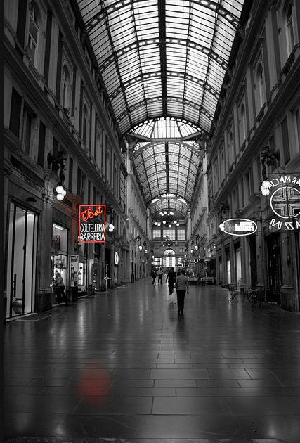 Galerías Mazzini. Foto extraída de Flickr