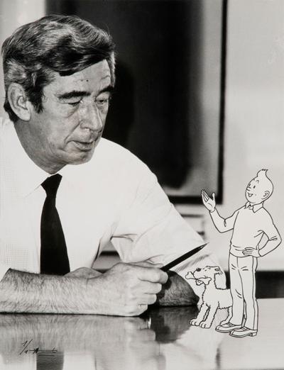 Hergé y Tintin