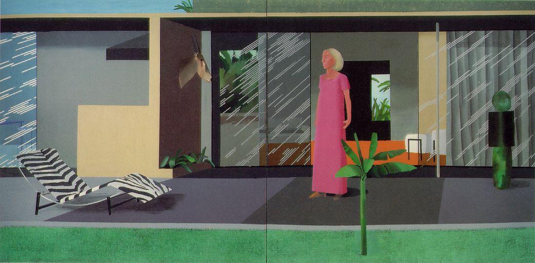 David Hockney uno de los precursores del Arte Pop en Gran Bretaña