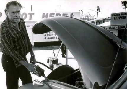 Bukowski y su Volkswagen