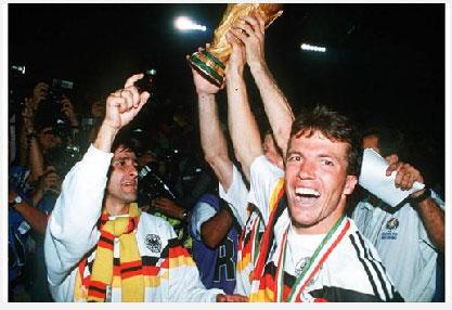 alemania gana el mundial de italia 90