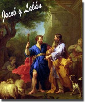 Jacob y Labán