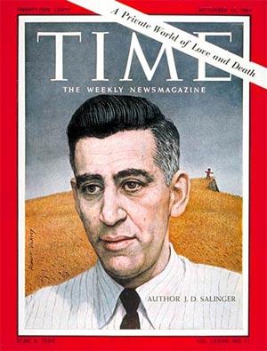 Salinger, portada de la revista TIME