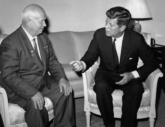 Nikita Jrushov y Kennedy