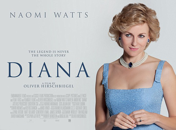 Lady Di, played by Naomi Watts