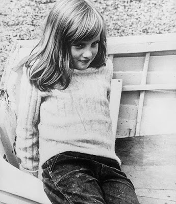 Lady Di in her childhood