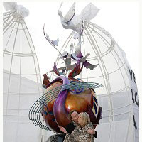 Escultura en honor a John Lennon