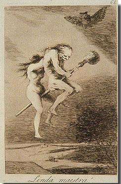 Linda Maestra, de Francisco de Goya