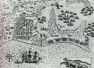 Mapa Drake Cartagena