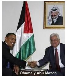 Obama y Abu Mazen
