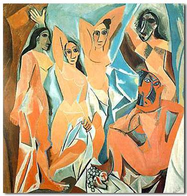 Picasso, Las Señoritas de Avignon