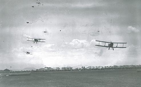 Primer Bombardeo Aereo