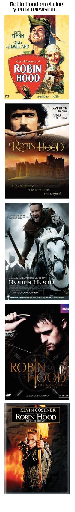 Robin Hood en el Cine y la Televisión