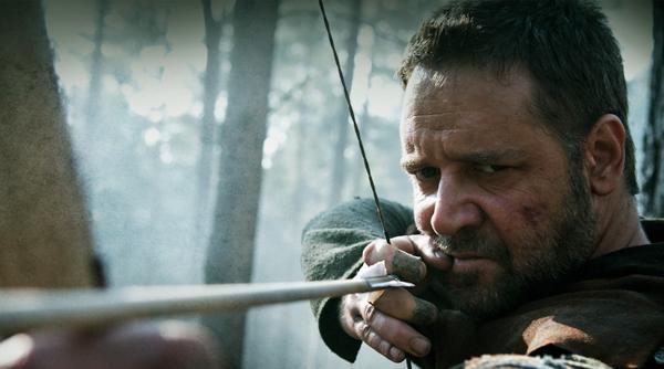 Robin Hood interpretado por Russel Crowe