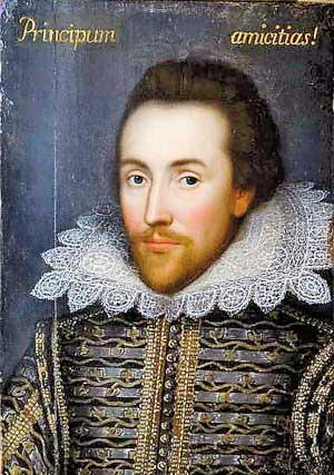 Shakespeare, retrato real