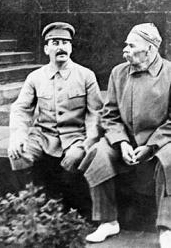 Stalin y Gorki