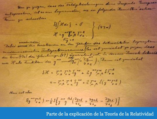 Einstein. Explicación de la Teoría de la Relatividad