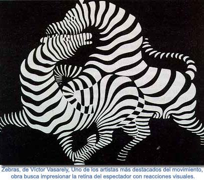 Obras Arte Cinetico Zebras Arte Cinetico