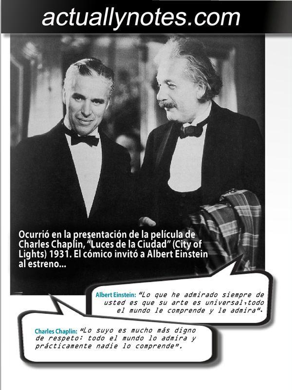 Fue Historia… La anécdota de Chaplin y Einstein