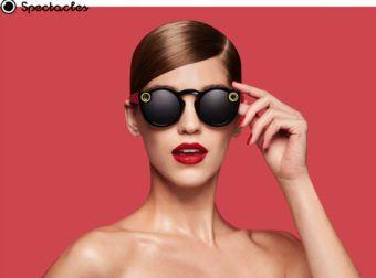 Spectacles, Snapchat estrena las gafas con cámara