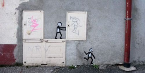 Arte visual en la calle