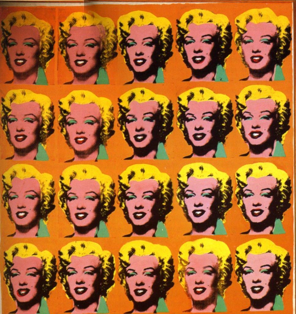 Veinte Marilyns. Andy Warhol. Explicación del cuadro
