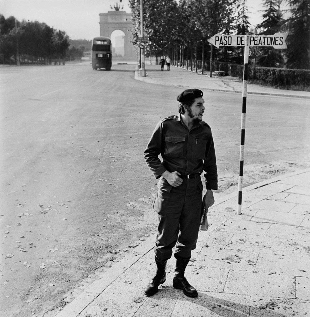 Che Guevara in Madrid