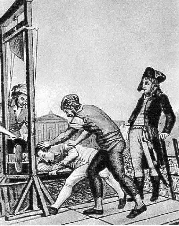 guillotina Robespierre