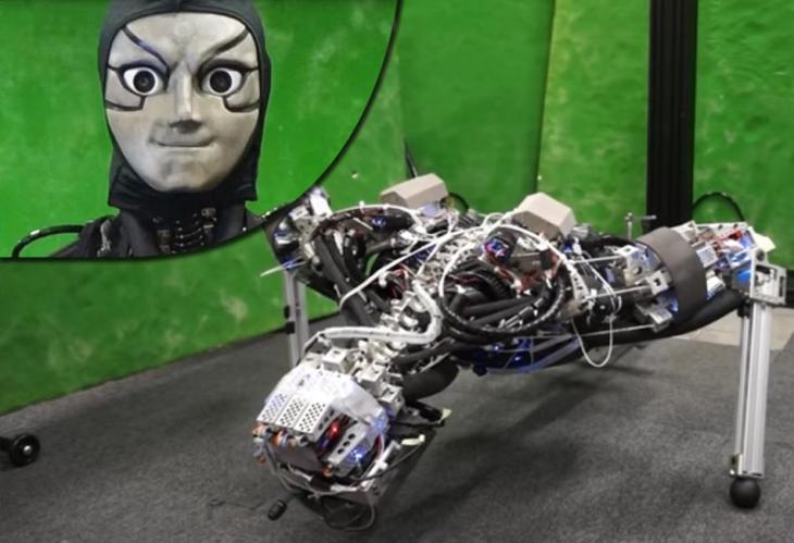 Kengoro, el robot 'terrorífico' que suda
