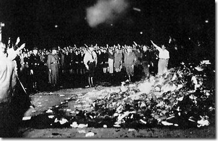 libros quemados por los nazis