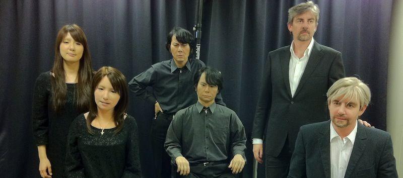 Hiroshi Ishiguro androides