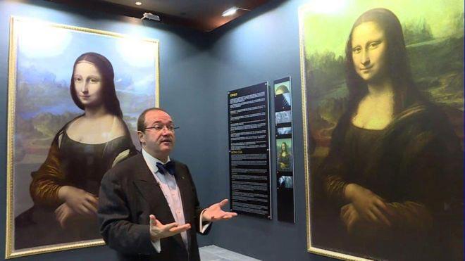 El retrato oculto de la Mona Lisa