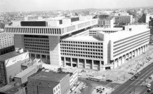 the J. Edgar Hoover F.B.I. Building