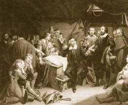 El Pacto del Mayflower (1620)