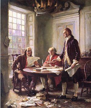 La Declaración de Independencia de Estados Unidos (1776)