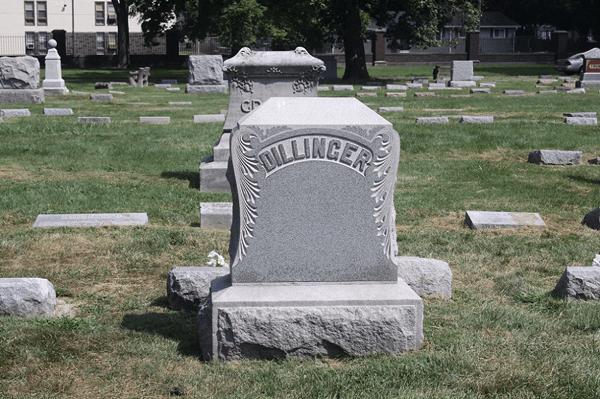 tumba familia dillinger