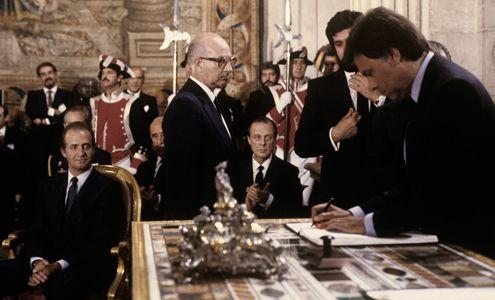 firma tratado UE. España