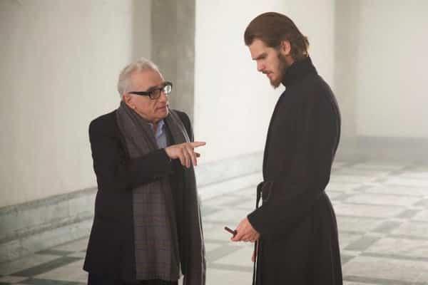Martin Scorsese, en el rodaje de su película: 'Silencio'